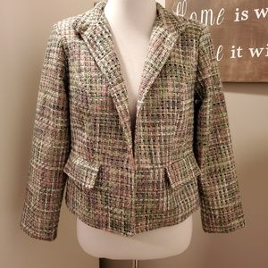 Vintage Tweed Appleseed's Blazer